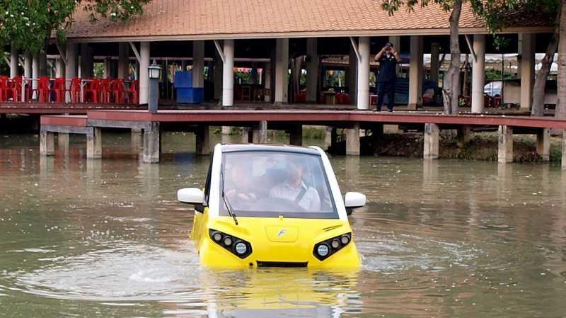 Cerita di Balik Pembuatan Mobil Listrik Mungil yang Tahan Tsunami