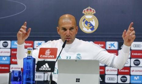 Zidane: Saya Mundur karena Saya Mencintai Real Madrid