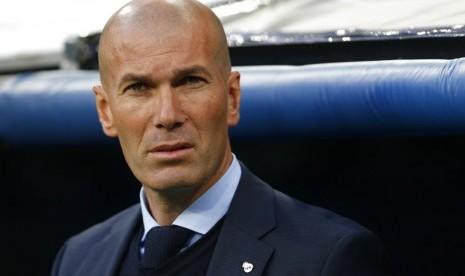 Zidane Umumkan Mundur dari Real Madrid