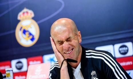 Kontra Sevilla Jadi Pembuktian Zidane Masih Layak Bertahan