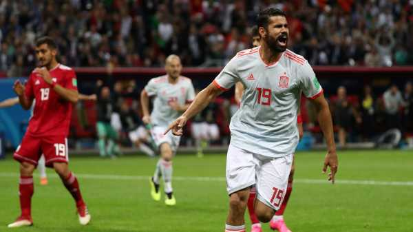 Gol Diego Costa Menangkan Spanyol atas Iran